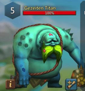 Gezeiten Titan
