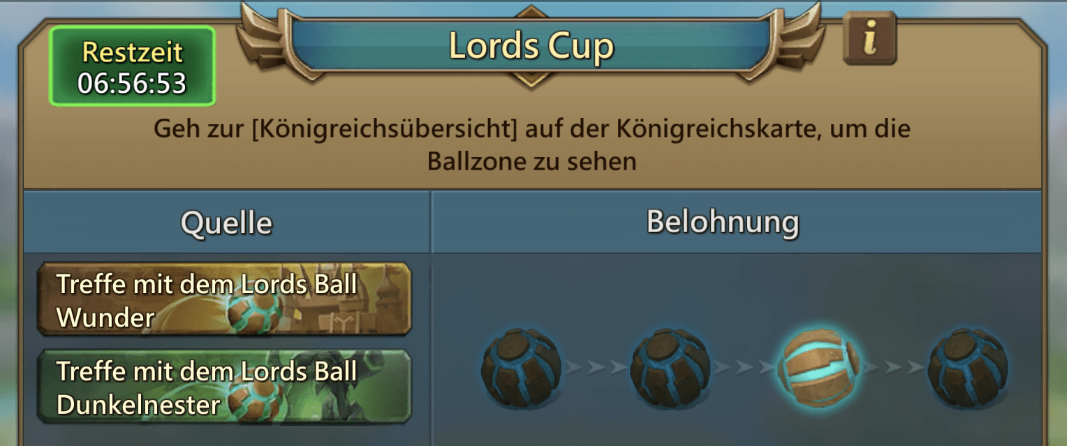 Anleitung Lords Cup