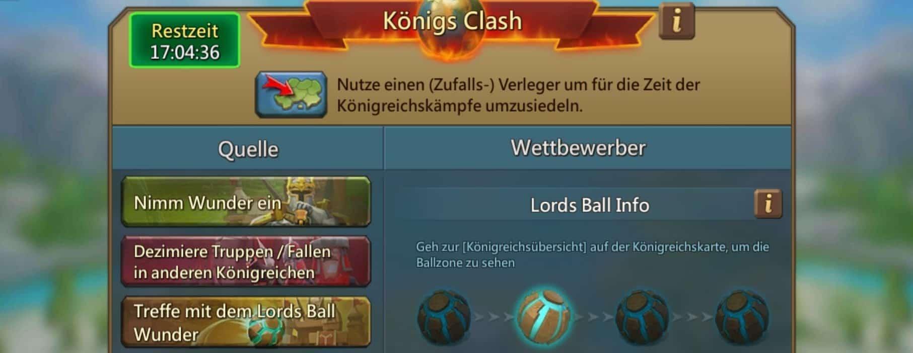 Lahmes KvK mit unnötigen Lords Ball