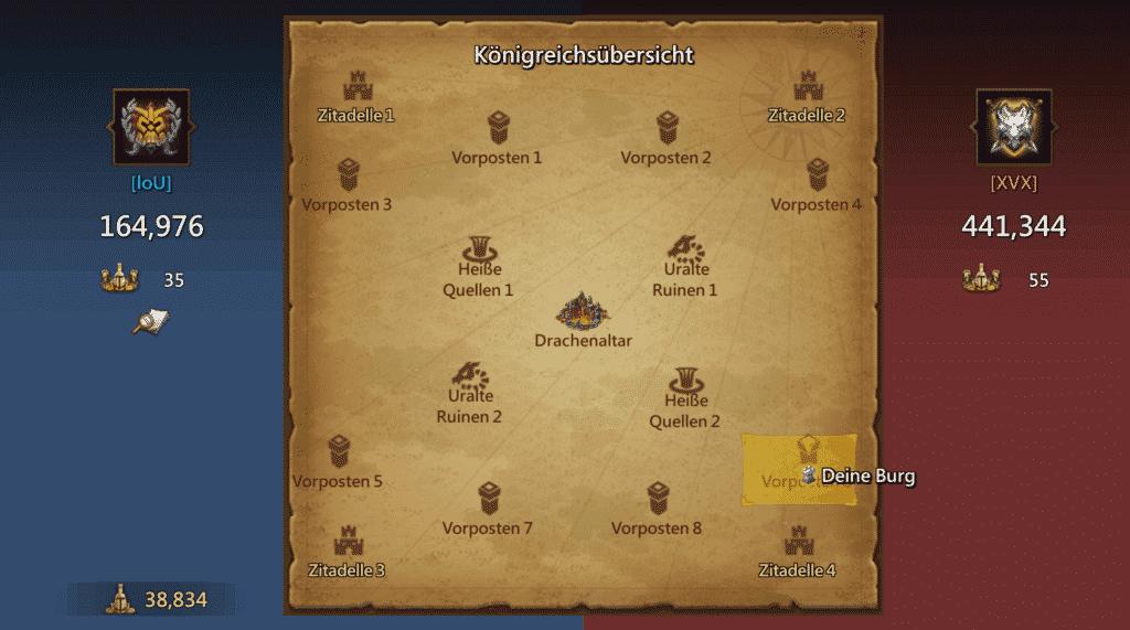 Drachenarena Karte Lords Mobile