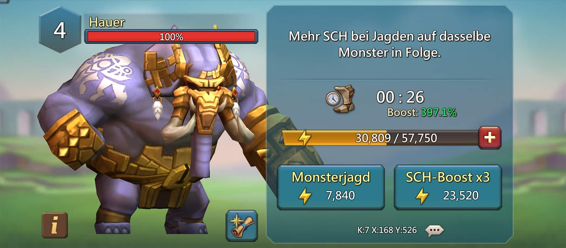 Hauer – Lords Mobile Monster